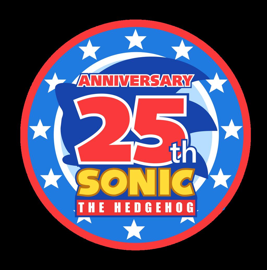 25th Sonic's Anniversary Logo -MY STYLE- by NuryRush