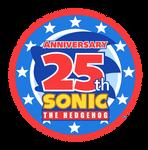 25th Sonic's Anniversary Logo -MY STYLE-