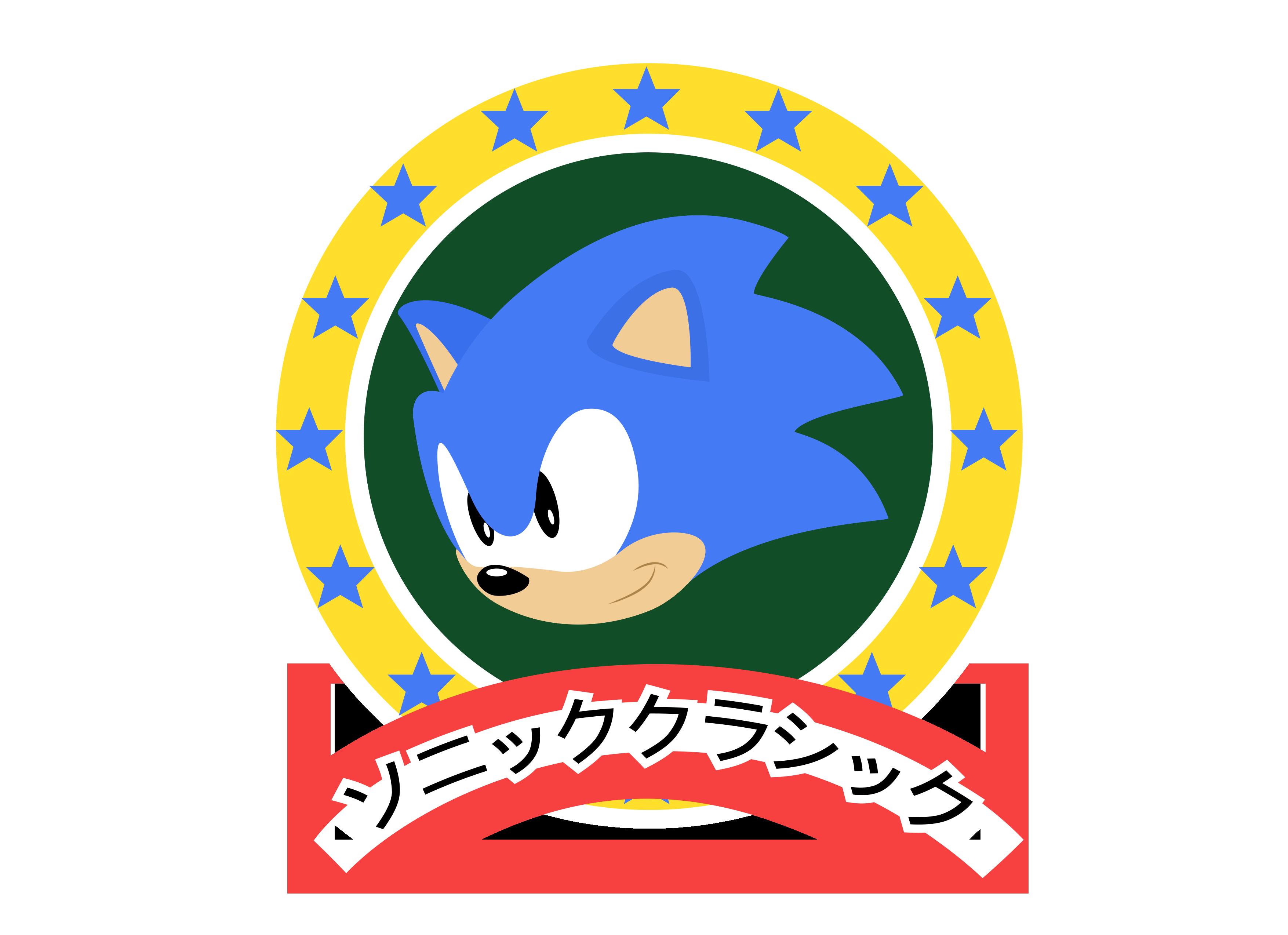 Classic Sonic Logo (Japanese version) by NuryRush