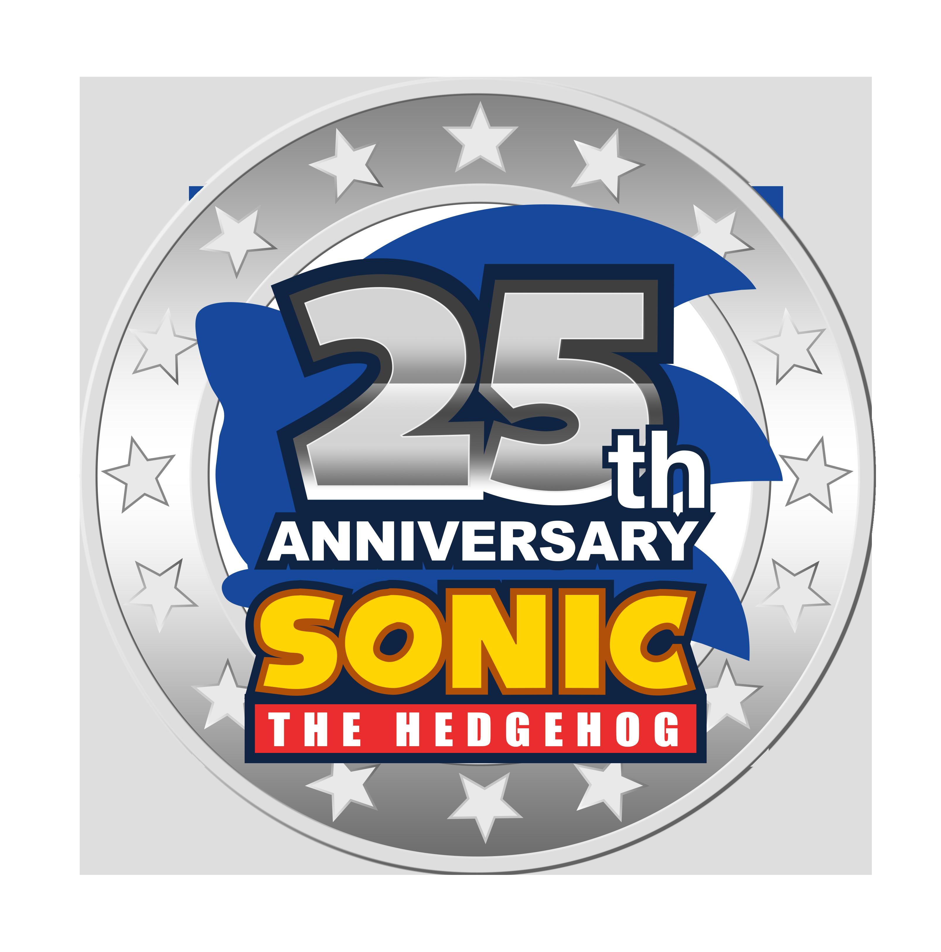 Sonic 25th Anniversary Logo ( Second Version ) by NuryRush