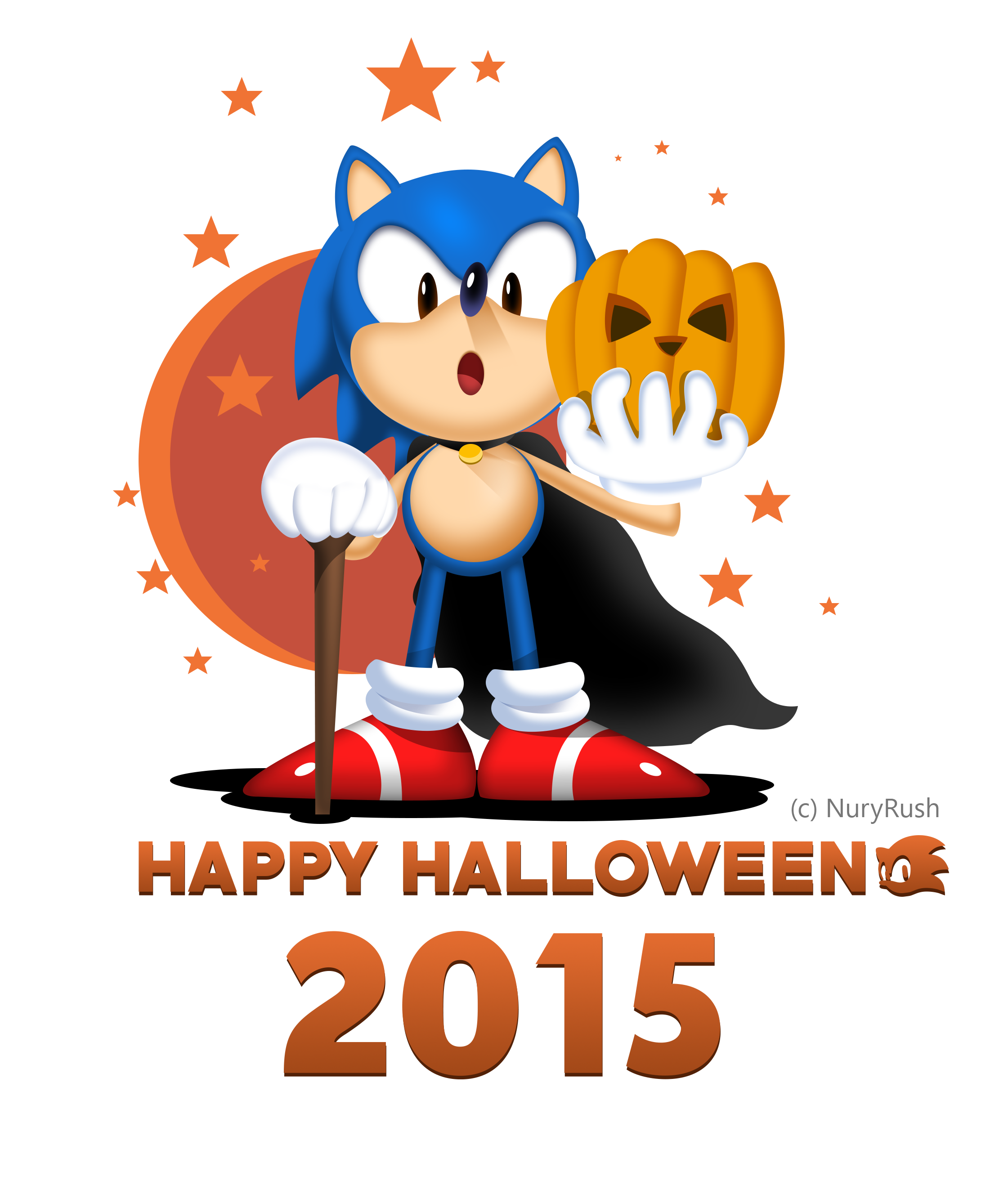 Pumpkin Hill Zone - Happy Halloween 2015! by NuryRush