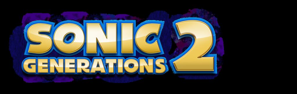 sonic generations 2 logo by nuryrush on deviantart