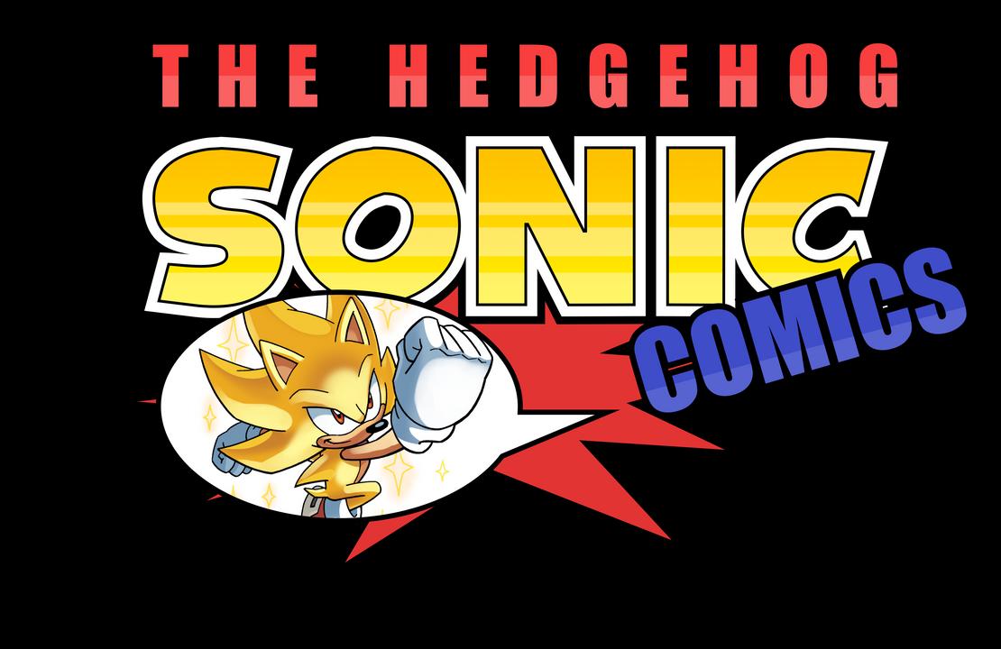 Sonic The Hedgehog Comics Logo by NuryRush