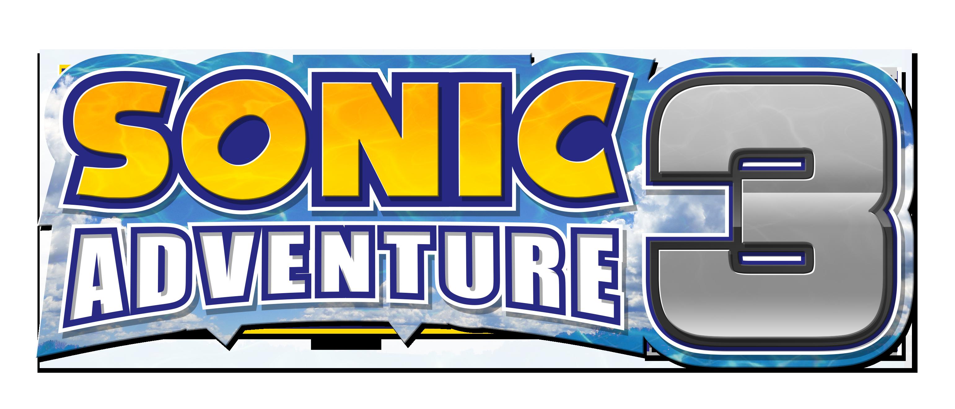 Sonic Adventure 3 logo by NuryRush