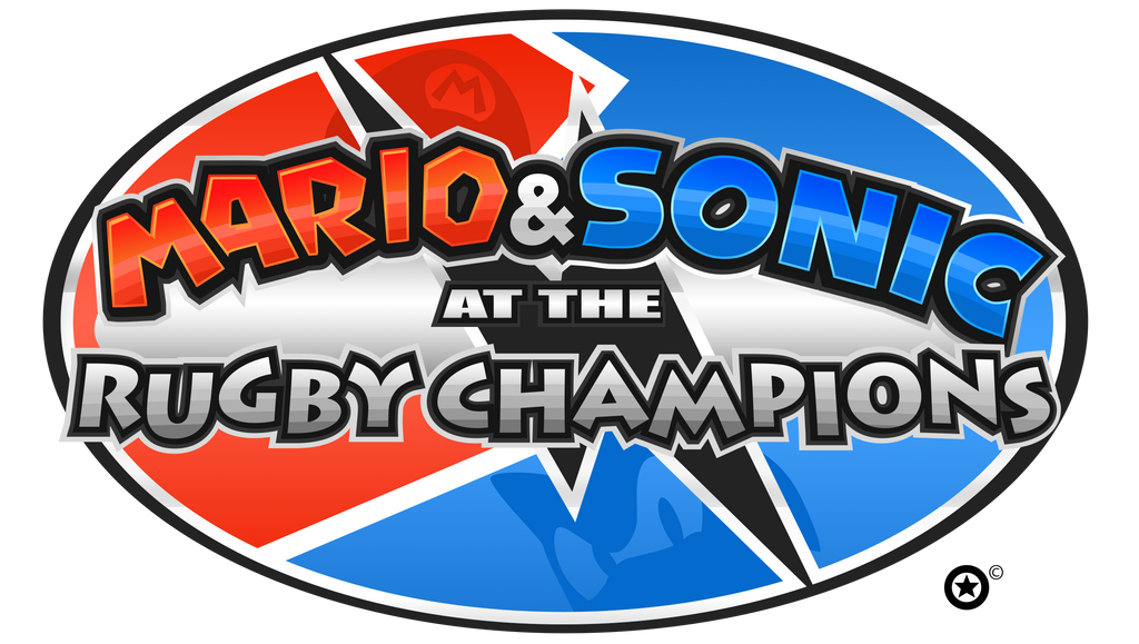 Mario And Sonic At The Rugby Champions Logo by NuryRush