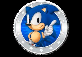 Sonic 25th Anniversary Icon by NuryRush