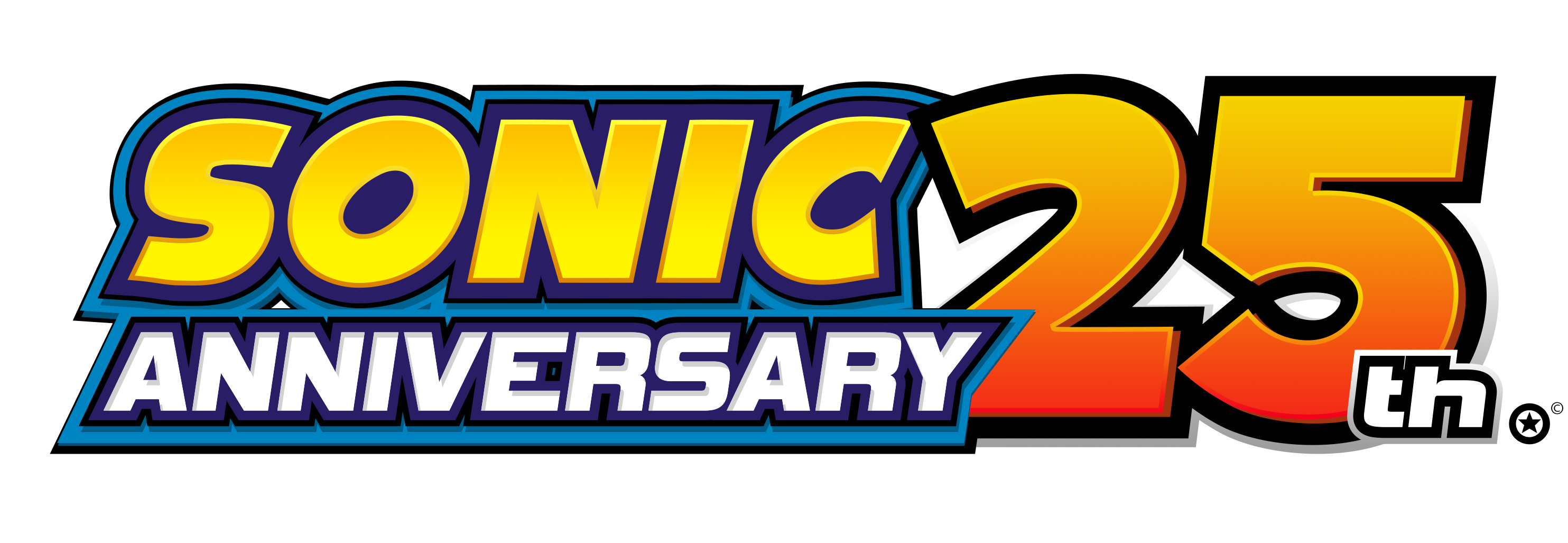 Sonic Adventure 25th Anniversary Edition Logo by NuryRush