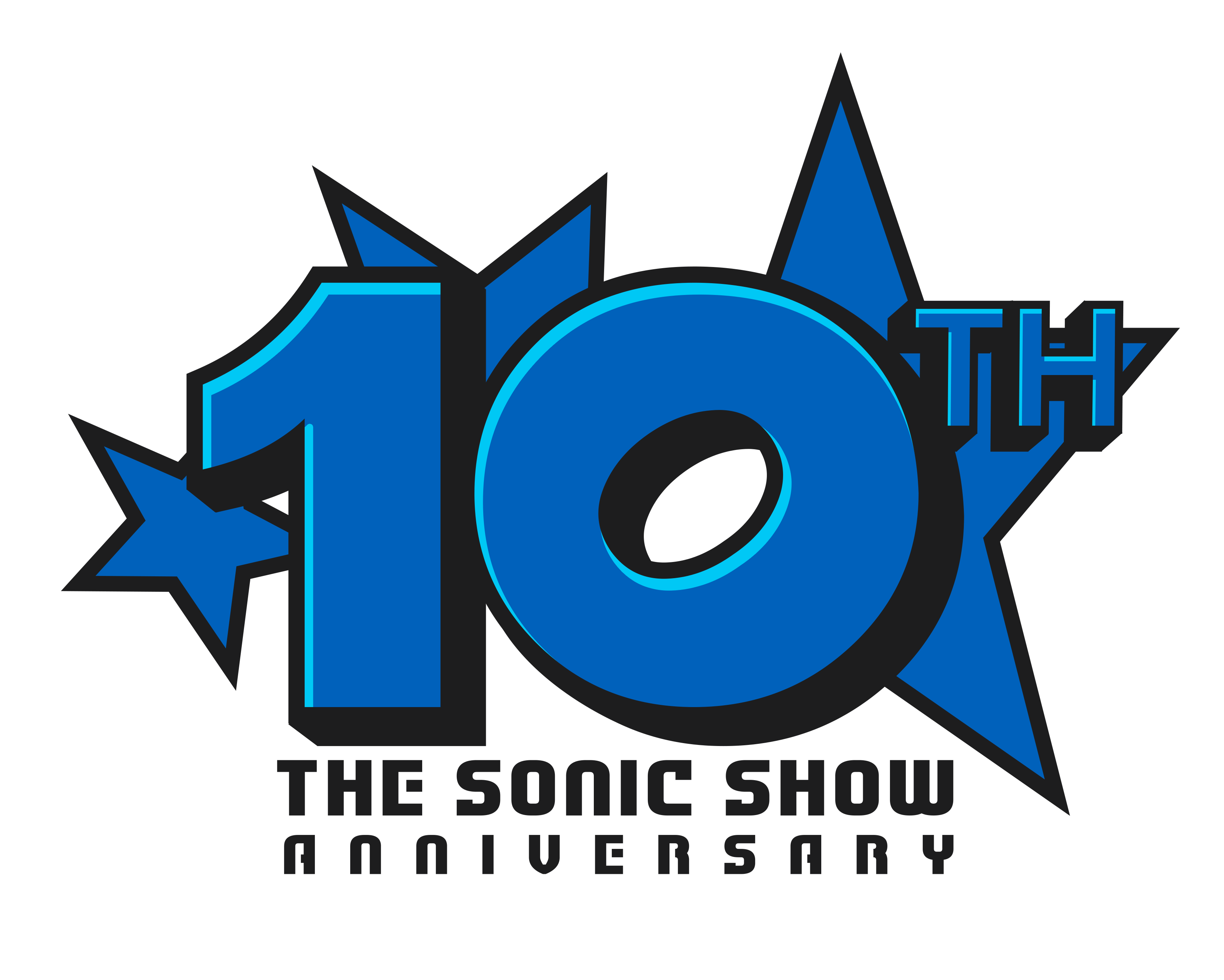 10th The Sonic Show Anniversary by NuryRush