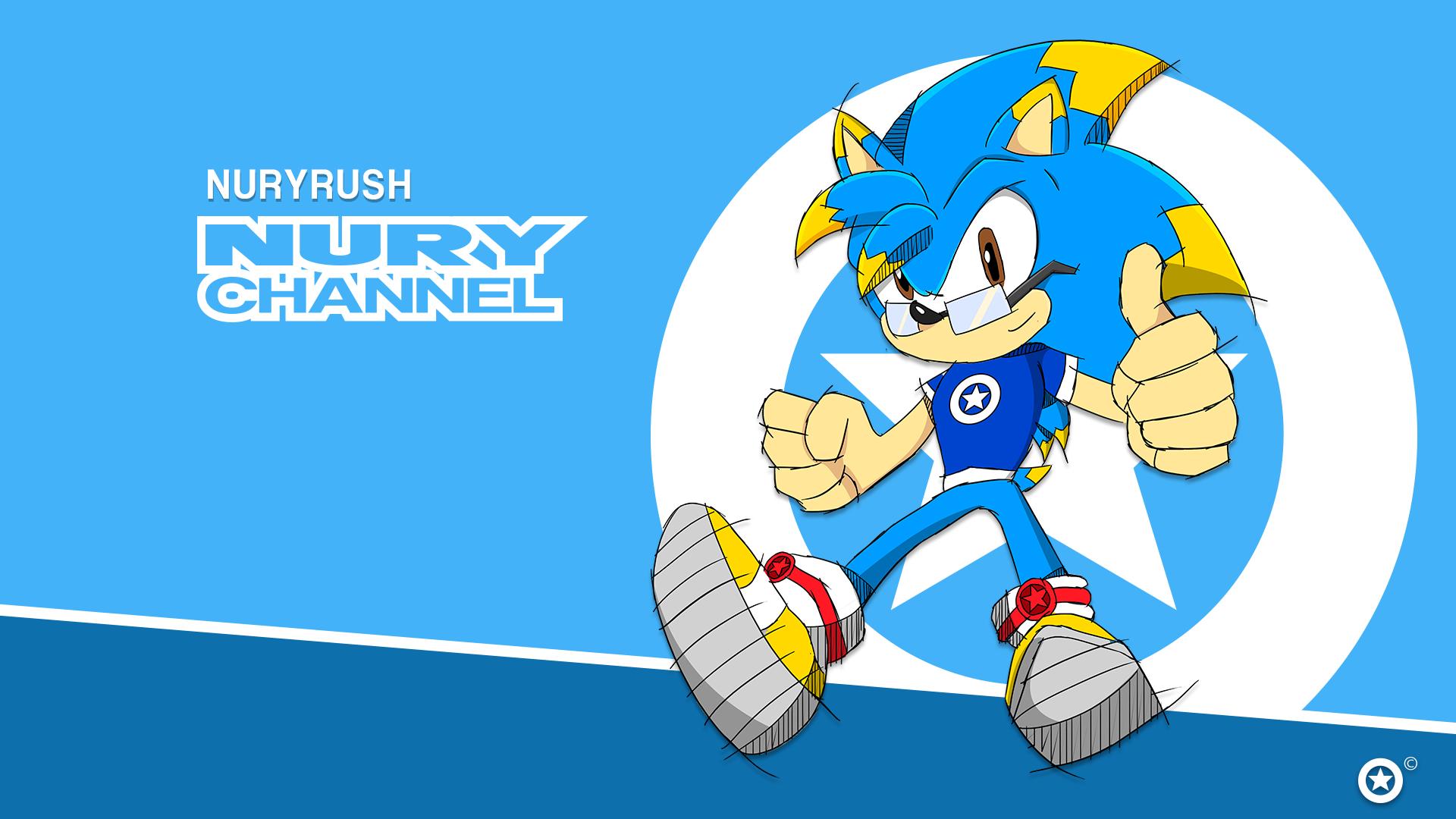 NuryRush's Sonic Channel Style 2016 Wallpaper by NuryRush