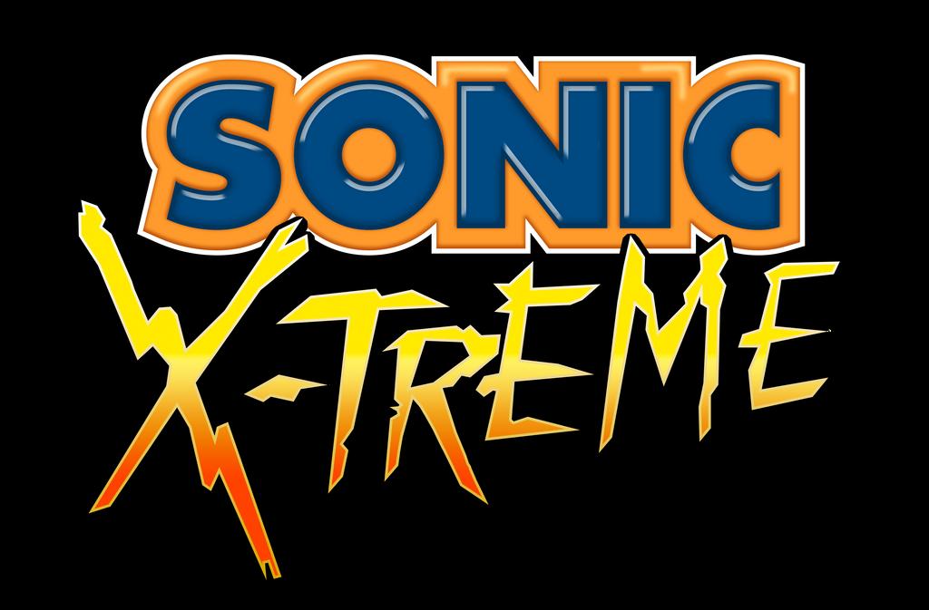 Sonic X-treme Logo Remade by NuryRush