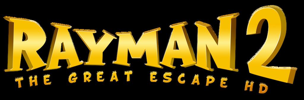 Rayman 2 The Great Escape HD Logo by NuryRush