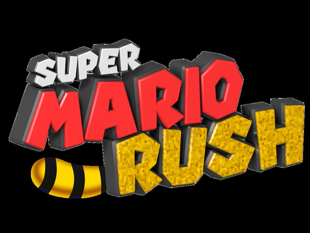 Super Mario Rush Logo by NuryRush