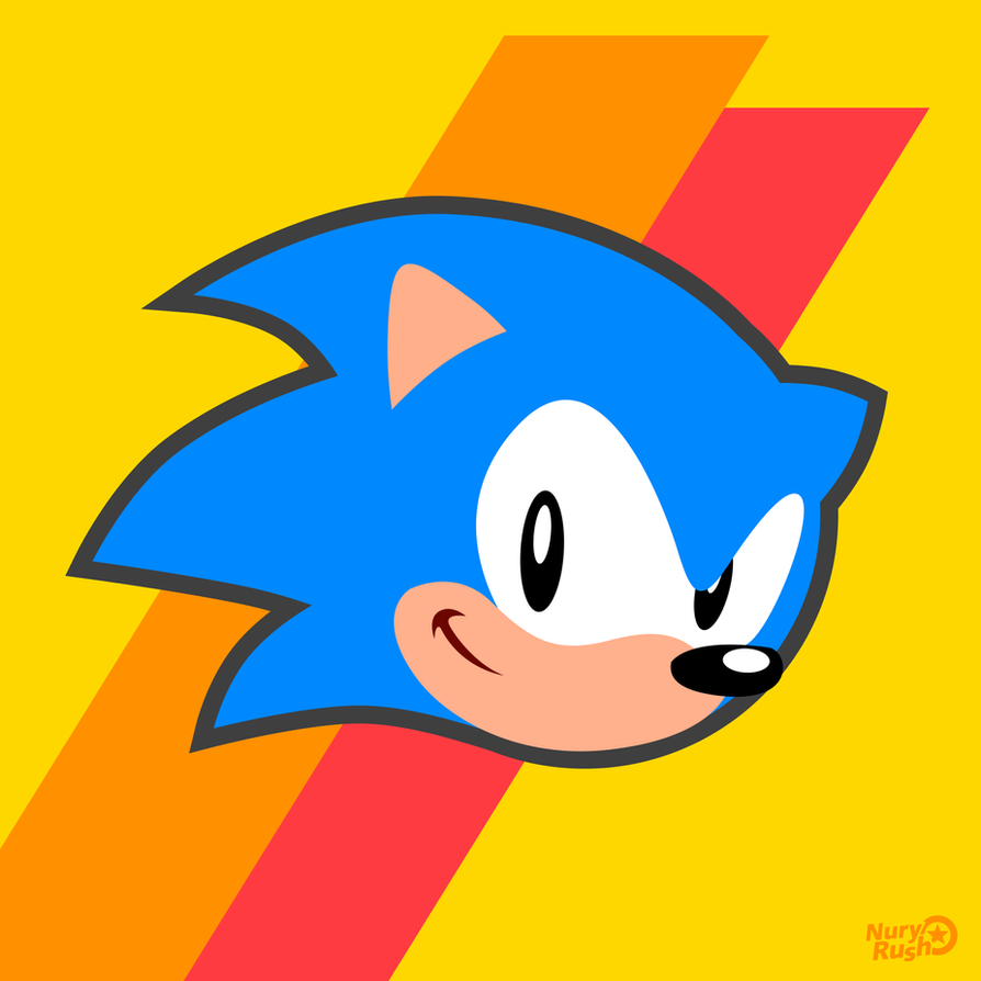 Sonic Mania Icon Sonic by NuryRush