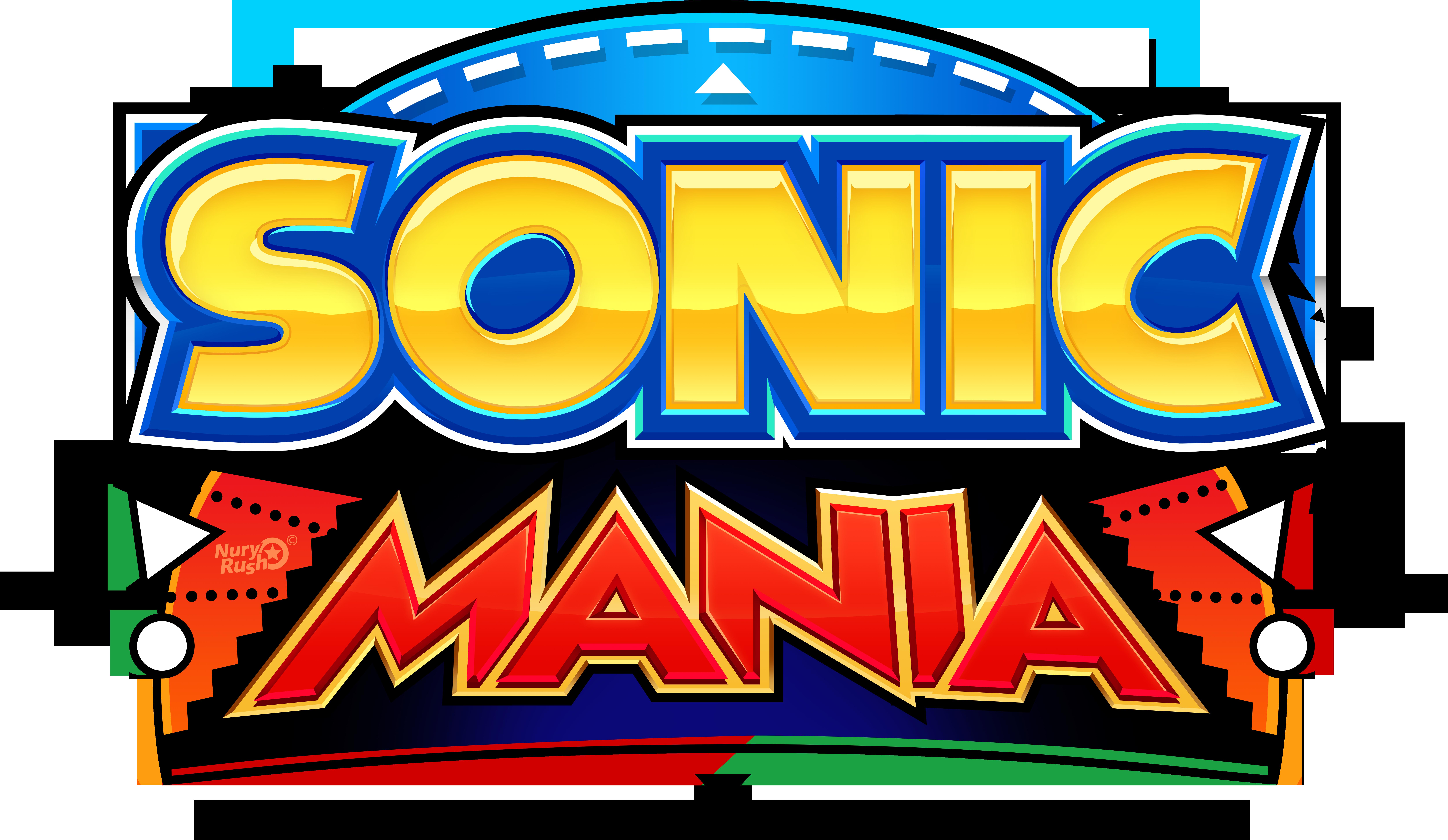 Sonic Mania Reimagined Logo by NuryRush on DeviantArt
