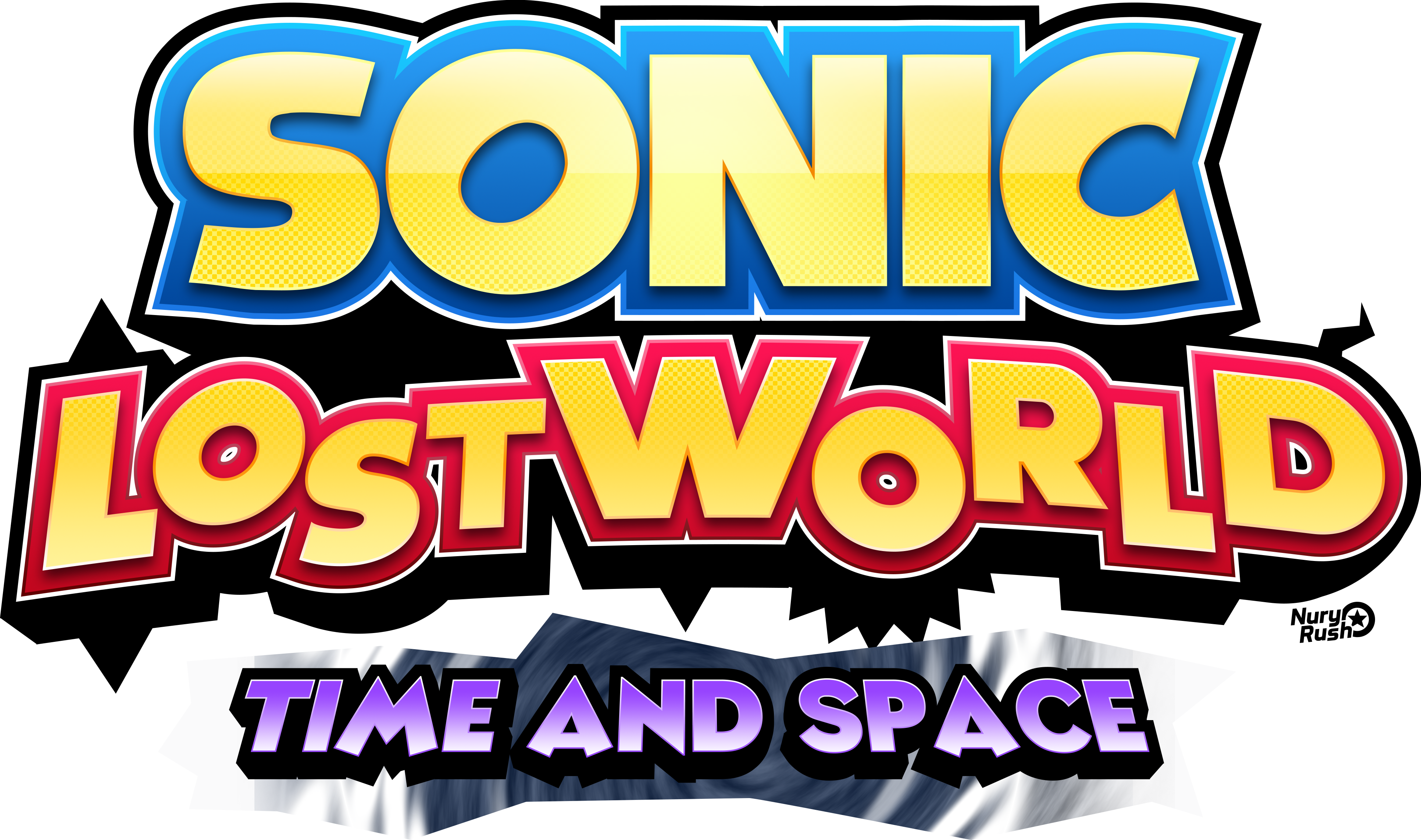 sonic lost world time and space logo by nuryrush on deviantart