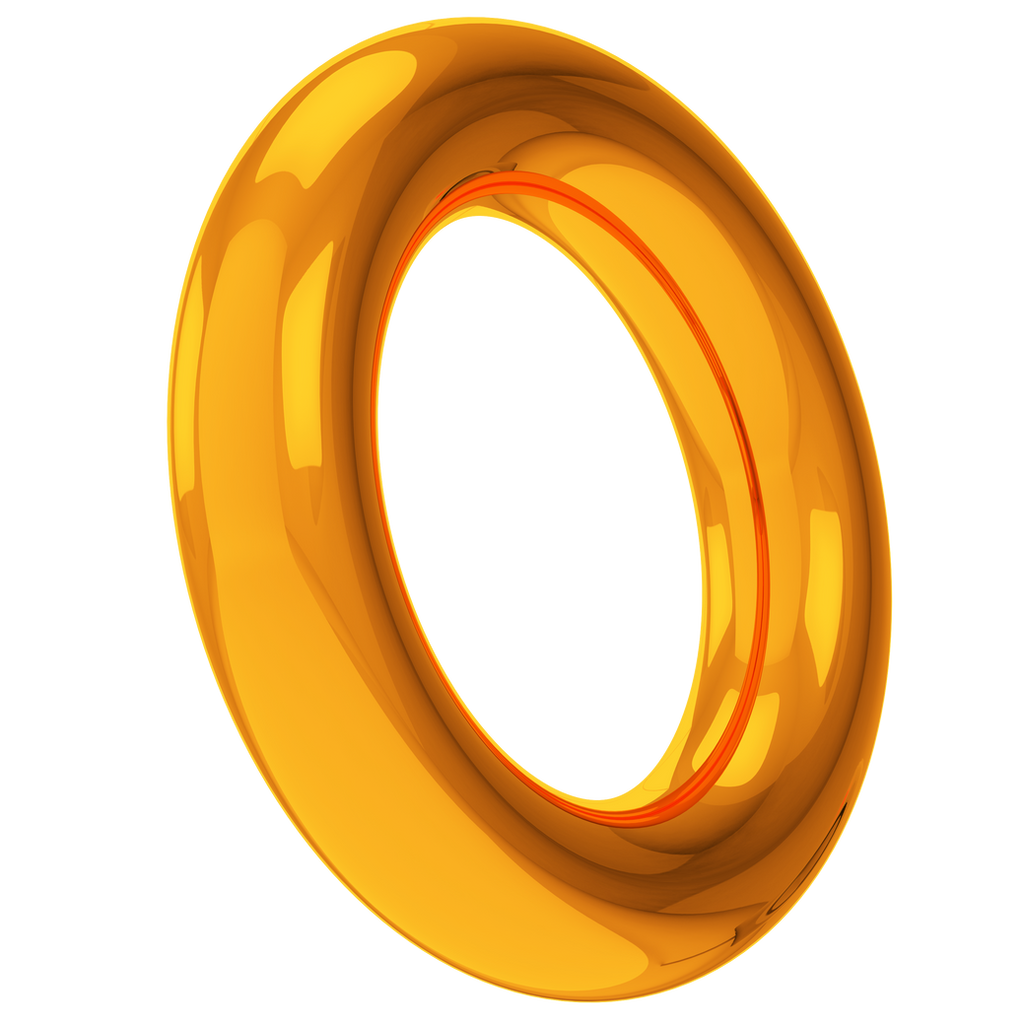 Yellow Ring Vector