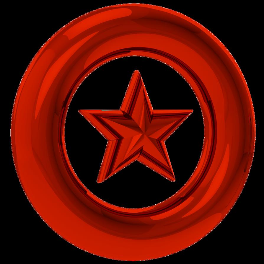 Red Star Ring Render by NuryRush