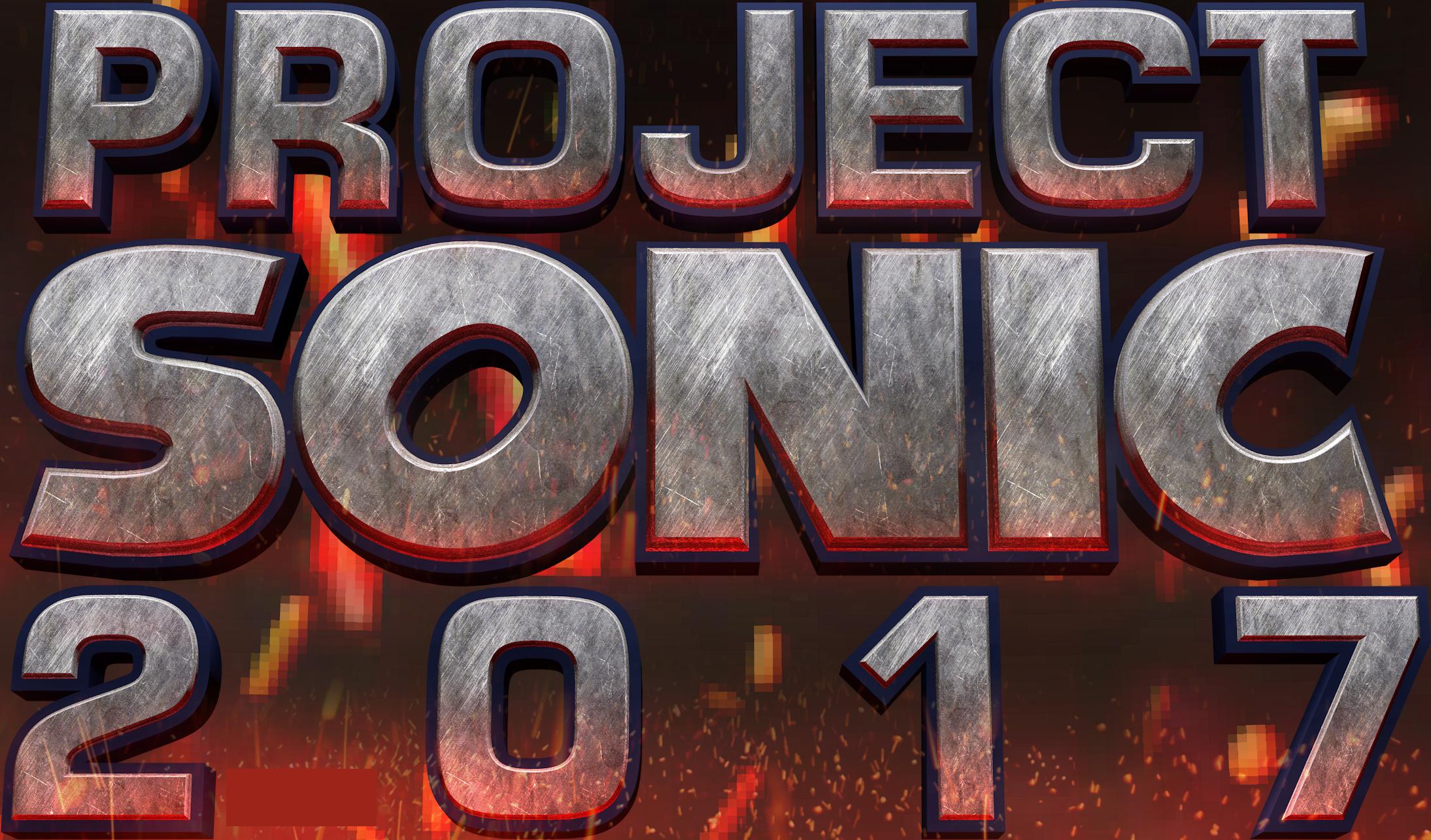 Project Sonic 2017 Logo by NuryRush