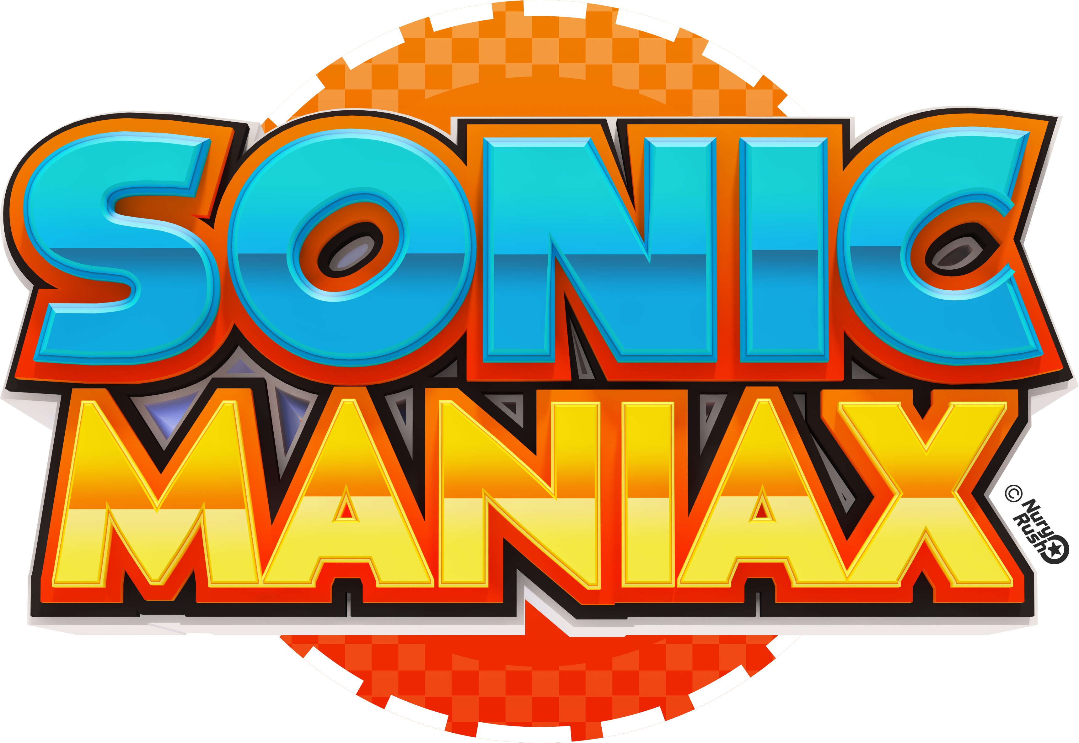 Sonic Maniax Logo by NuryRush