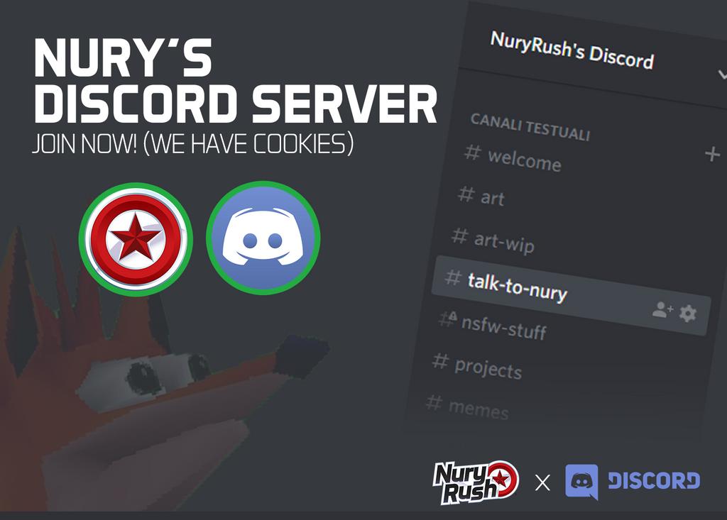 NuryRush's Discord Server by NuryRush
