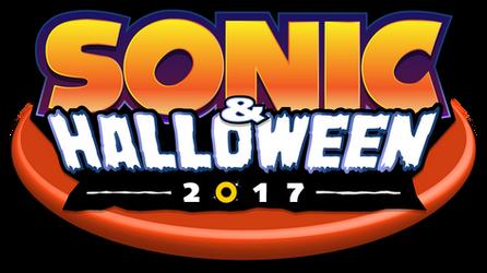 Sonic And Halloween 2017 Logo by NuryRush