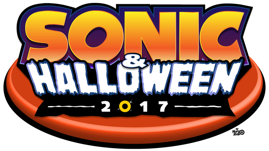 Sonic And Halloween 2017 Logo by NuryRush