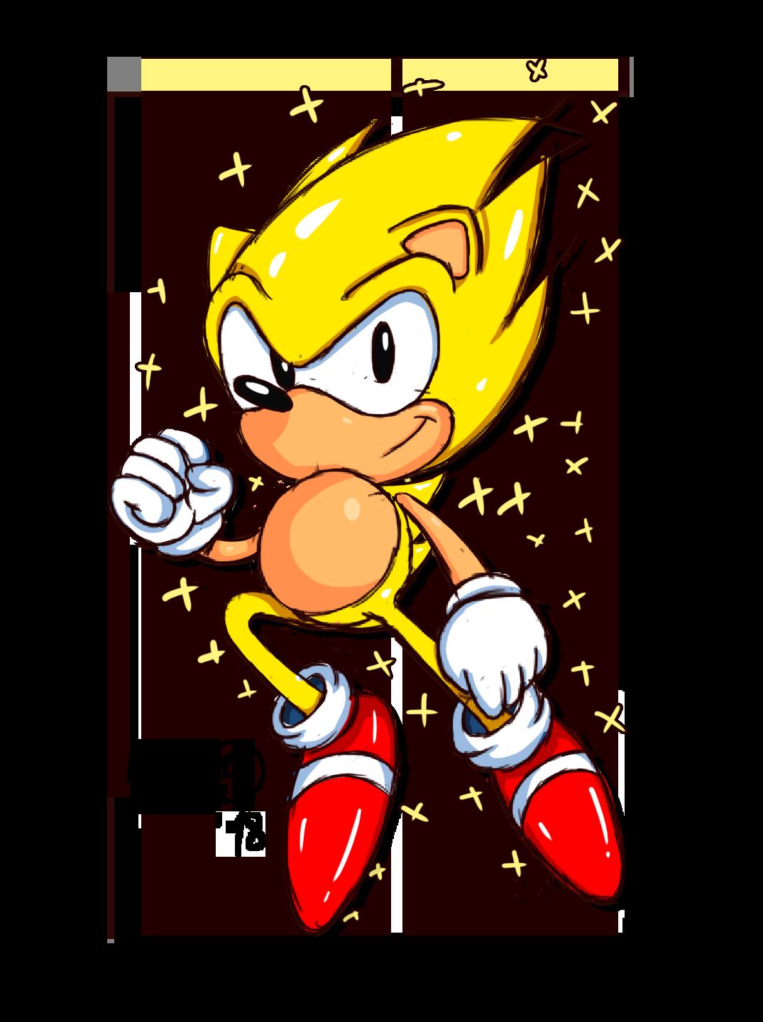 Classic Super Sonic by NuryRush