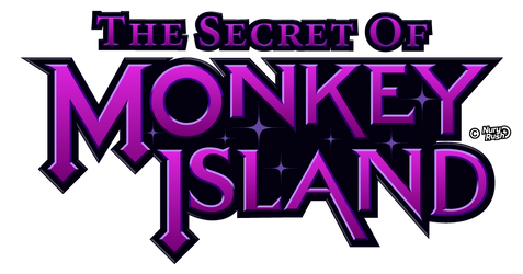 Monkey Island logo Reimagined by NuryRush