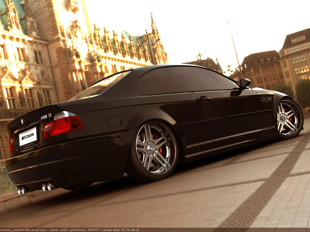 BMW M3 E46 by solanki47
