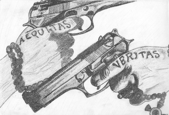 Boondock saints old ver by crimson roses bleed on for Boondock saints hand tattoos