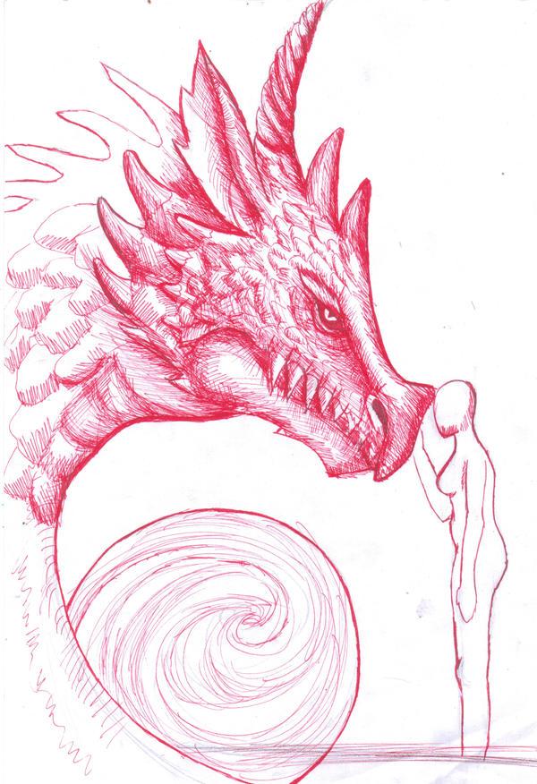 Dibujo sin terminar by Tefian