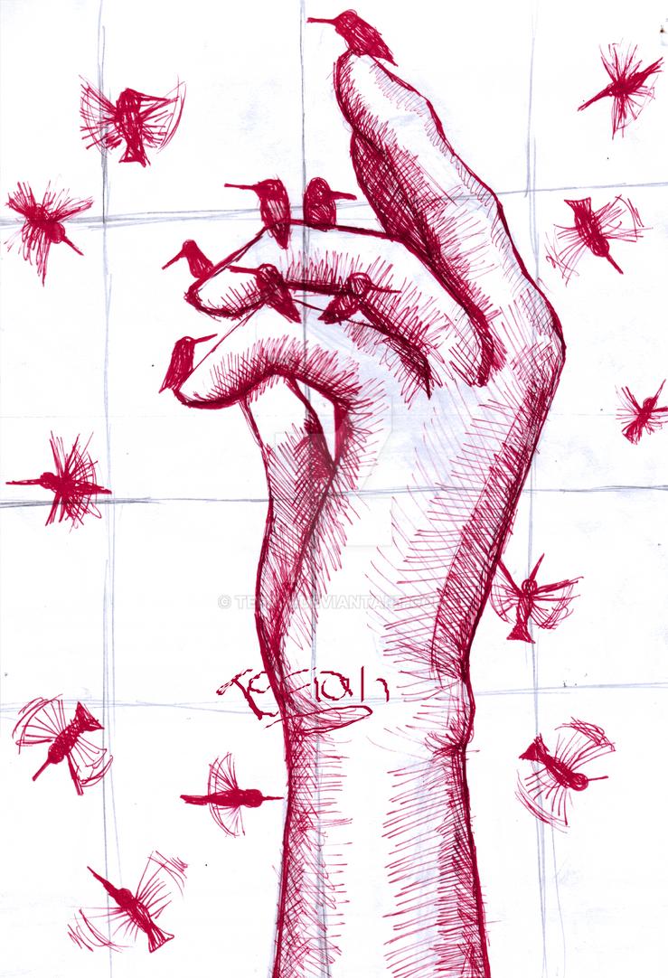 hand by Tefian