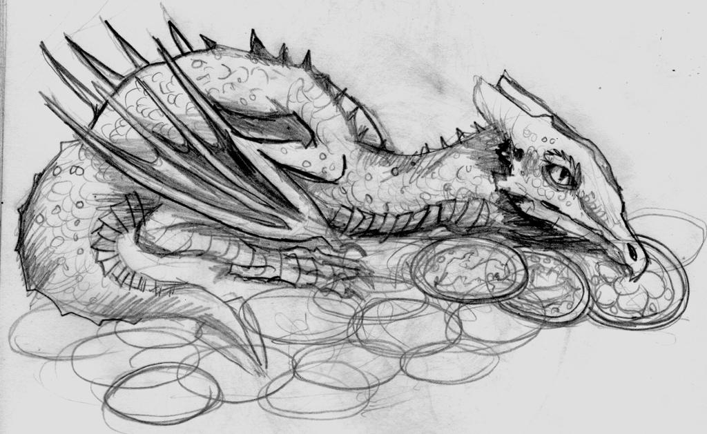 Mini Dragon by Tefian