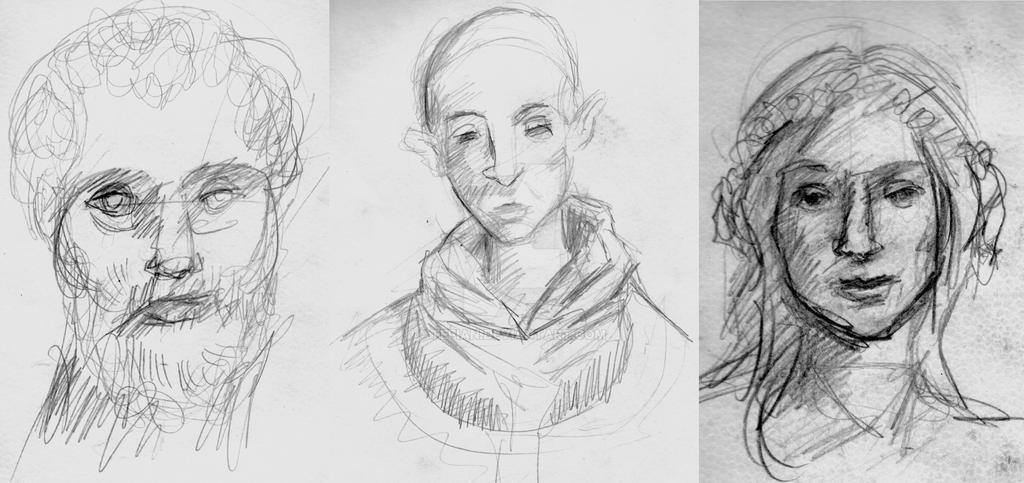 Bocetos by Tefian
