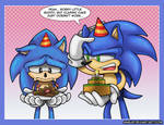 Classic vs Modern Sonic - Cake