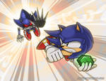 Sonic CD - Descending Space and Time