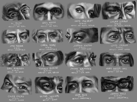 Eye Study - Hunters