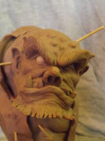 Ogre Bust by logan250