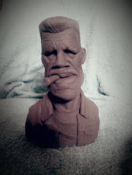 Sons Of Anarchy Clay Morrow Caricature WIP
