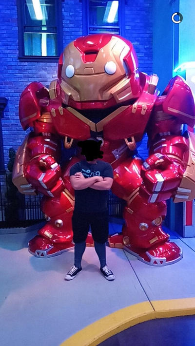 Me and Hulk-buster @ Funko HQ