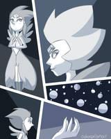 White Diamond and White Pearl by colorprismita