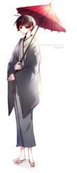 APH: Kiku-san by mixed-blessing