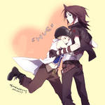 KH: hug