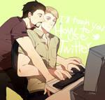 Tony/Steve: Twitter