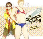 Tony/Steve: Summer