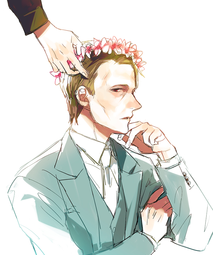 Hannibal: another flower crown by mixed-blessing