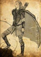 Legolas from LOTR by Neldorwen