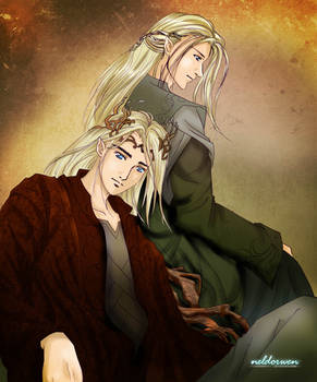 Thranduil and Legolas