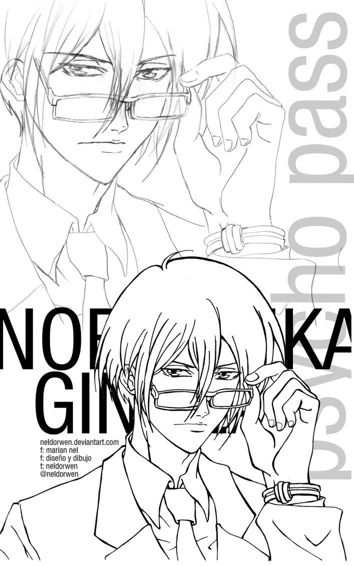 WIP - Nobuchika Ginoza from Psycho Pass by Neldorwen