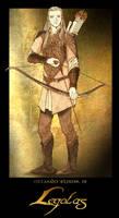 Legolas poster by Neldorwen